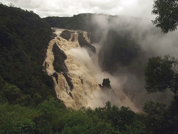 the barron falls cairns