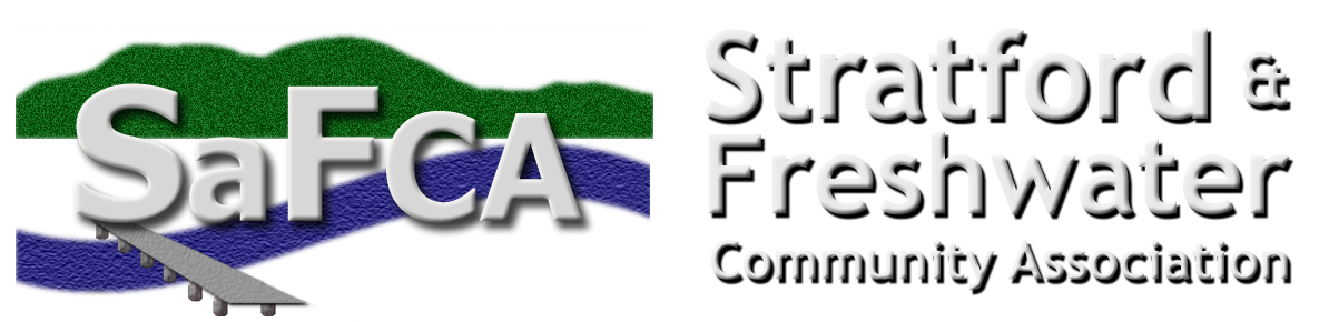 SAFCA | Stratford and Freshwater Community Association